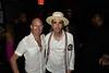 Artin Bey Archer and DJ Cassidy<br /> photo by Rob Rich/SocietyAllure.com © 2015 robwayne1@aol.com 516-676-3939