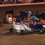 dirt track racing image - HFP_2093