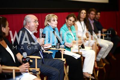 "Lebanon Amb. Antoine Chedid. Photo by Tony Powell. ""Salam Neighbor"" Screening and Reception. June 20, 2015"