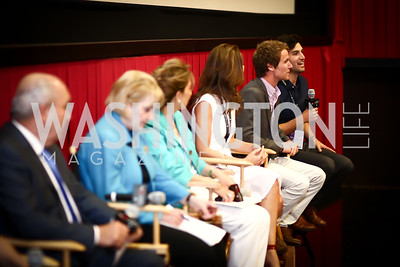 "Producer Zach Ingrasci. Photo by Tony Powell. ""Salam Neighbor"" Screening and Reception. June 20, 2015"