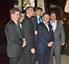 Prom 2016 - seniors Chase, Cole, Aaron, Reed - exch student Danilo