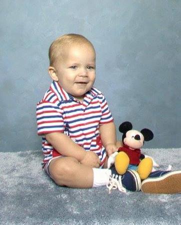 Brandon Thomasson - Mickey Mouse baby pic