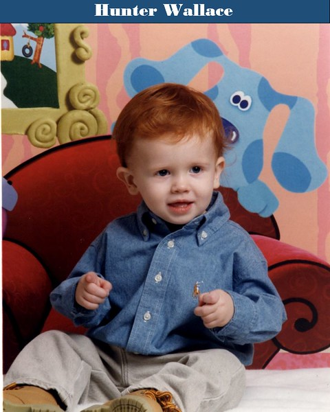 Hunter Wallace baby pic