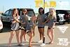 Fab5 senior cheerleaders leaving for camp.