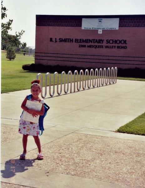 Mariah 1st Day of School 3