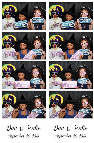 Dan & Katie September 26, 2015