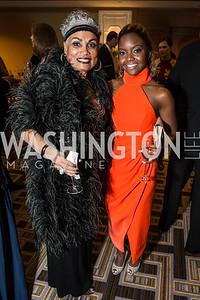 Barbara Lang, Marissa McKeever. Photo by Alfredo Flores. Sibley Hope and Progress Gala. Four Seasons Hotel. October 17, 2015