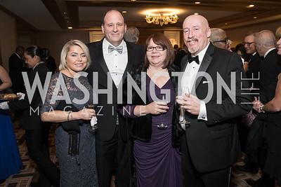 Sara Foer, Michael Foer, Jennifer King, Mark King. Photo by Alfredo Flores. Sibley Hope and Progress Gala. Four Seasons Hotel. October 17, 2015
