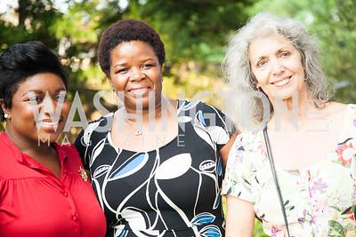 Deesha Dyer, Hilda McBride, Lynn Crossley