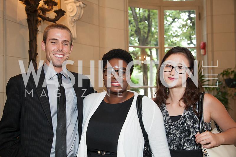 Ryan Vilfer, Martina Cohran, Peggy Xu