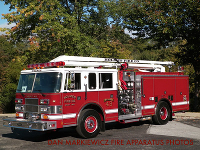 HOLMES FIRE CO. DELAWARE COUNTY SQUIRT 43 1996 PIERCE SQUIRT