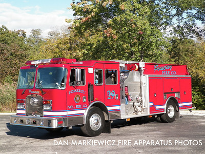 KEYSTONE VALLEY FIRE CO. CHESTER COUNTY ENGINE 8-1 1999 KME PUMPER