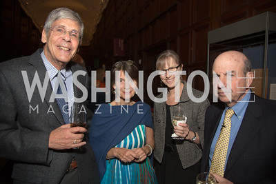 "Jackson Breyer, Susan Richards Shreve, Mary Breyer, Calvin ""Bud"" Trillin"