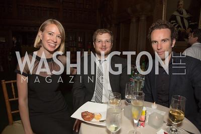 Authors Elizabeth Gutting, Justin Taylor and Elliot Ackerman