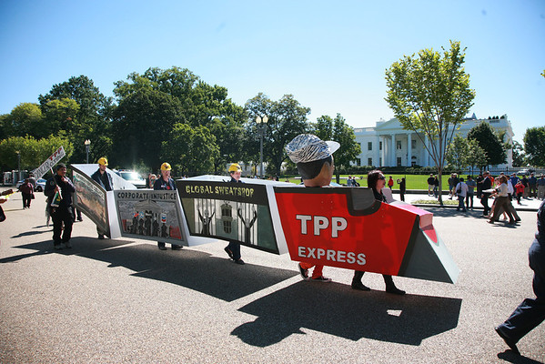 Stop The Trans-Pacific Partnership Sept. 24, 2013