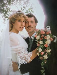 Sue & Brian Wedding Pics Digital from Print