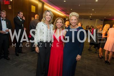 Deborah Norville, Rep Debbie Wasserman Schultz, Joan London, Susan G. Komen, Honoring the Promise, Kennedy Center, Sept 24, 2015, photo by Ben Droz.