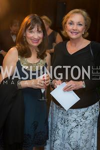 Anne Roddick, Gay Johnson, Susan G. Komen, Honoring the Promise, Kennedy Center, Sept 24, 2015, photo by Ben Droz.