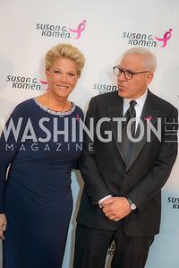 Joan London, David Rubenstein, Susan G. Komen, Honoring the Promise, Kennedy Center, Sept 24, 2015, photo by Ben Droz.