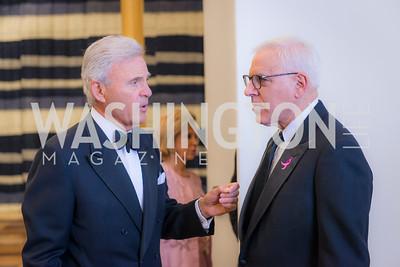 Amb Stuart Bernstein, David Rubenstein, Susan G. Komen, Honoring the Promise, Kennedy Center, Sept 24, 2015, photo by Ben Droz.