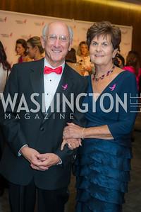 Steve Rosenberg, Alice Rosenberg, Susan G. Komen, Honoring the Promise, Kennedy Center, Sept 24, 2015, photo by Ben Droz.