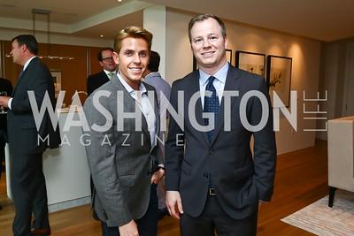 Bradley Smith, David Helfrich. Photo by Tony Powell. TTR Sotheby's Watch and Jewelry Event. June 17, 2015