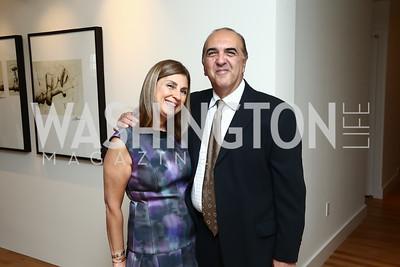 Fariba and Reza Jahanbani. Photo by Tony Powell. TTR Sotheby's Watch and Jewelry Event. June 17, 2015