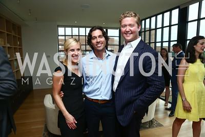 Julie Vavrichek, Josh Bernstein, Daniel Heider. Photo by Tony Powell. TTR Sotheby's Watch and Jewelry Event. June 17, 2015