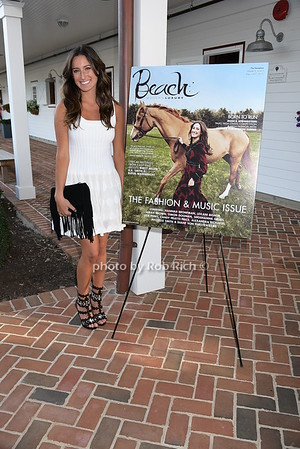 Jessica Springstein  attends her  Beach Magazine cover party  at the exclusive Campbell Stables in Bridgehampton on August 27, 2015. photo by Rob Rich/SocietyAllure.com © 2015 robwayne1@aol.com 516-676-3939