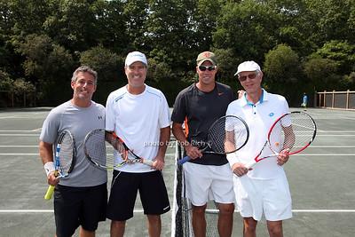 Ricky Sandler, Rick Leach, Jared Palmer, Joel Pashcow