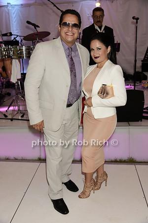 Tito Puente jr, and Rosalie Puente