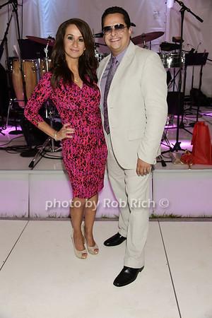 Audrey Puente and Tito Puente jr.