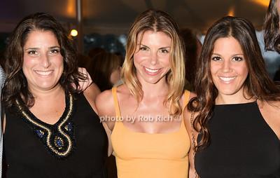 Kara Venner, Sarah Sarpolis, and Jackie Caterina