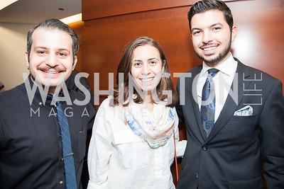 Gegham Mughnetsyan, Talin Baghdadlian, Armen Sahakyan