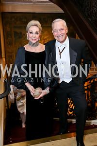 Rosemarie Bogley, Robert Heggestad. Photo by Tony Powell. The Russian Ball. January 10, 2015