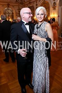 James Quinn and Kristina Katerberg-Quinn. Photo by Tony Powell. The Russian Ball. January 10, 2015