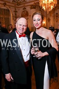 Lenny Snodgrass, Lauren Burke. Photo by Tony Powell. The Russian Ball. January 10, 2015