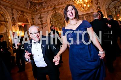 John Dick, Maria Maestros. Photo by Tony Powell. The Russian Ball. January 10, 2015