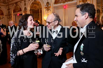 Beth Akiyama, Andrew Sostek, Kip Guen. Photo by Tony Powell. The Russian Ball. January 10, 2015