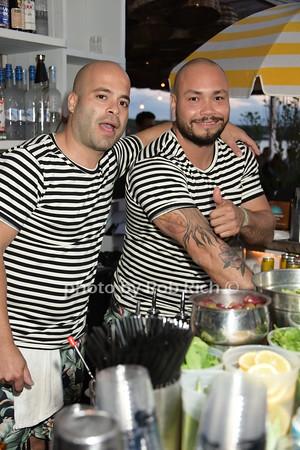 Bartenders at the Surl Lodge photo by Rob Rich/SocietyAllure.com © 2015 robwayne1@aol.com 516-676-3939