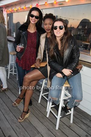Olivia Redmond, Aminata Tisse, and  Kaylan Reser photo by Rob Rich/SocietyAllure.com © 2015 robwayne1@aol.com 516-676-3939
