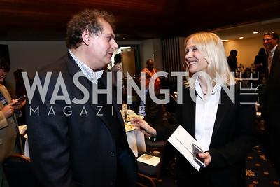 John Richard, Pamela Gilbert. Photo by Tony Powell. The Twelfth Annual Ridenhour Prizes. National Press Club. April 29, 2015
