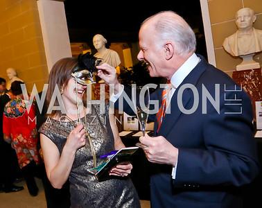 Kara Morrissey, Frank Peterson. Photo by Tony Powell. TWC An Argentine Carnaval Gala. OAS. February 17, 2015
