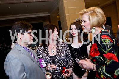 Joel Friedman, WPAS President Jenny Bilfield, Hallie Friedman, TWC Exec. Dir. Dianne Peterson. Photo by Tony Powell. TWC An Argentine Carnaval Gala. OAS. February 17, 2015