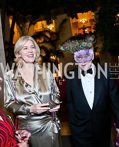 Anne Midgette, Jan Lodal. Photo by Tony Powell. TWC An Argentine Carnaval Gala. OAS. February 17, 2015