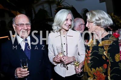 Paul Ignatius, Jeanne Romilly, Nancy Ignatius. Photo by Tony Powell. TWC An Argentine Carnaval Gala. OAS. February 17, 2015