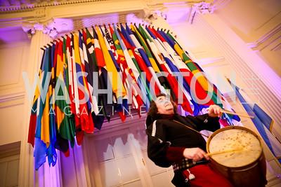 Gaucho Jorge Pereyra. Photo by Tony Powell. TWC An Argentine Carnaval Gala. OAS. February 17, 2015
