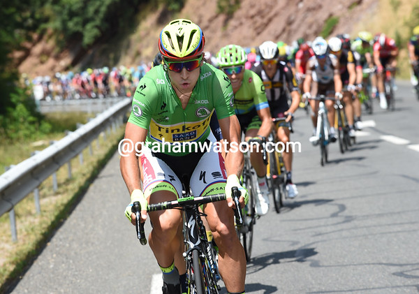 Peter Sagan has leapt into attack mode right from the start..!