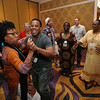 Ninth Triennial Gathering | The music takes over at the international guest reception.