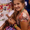 Graciela Ortiz, Delavan, Minn., made a paper doll to explore the life of a child who is a beneficiary of the ELCA World Hunger program. The ELCA World Hunger and ELCA Malaria Campaign had Ortiz and other participants spin a wheel to land on one of many beneficiaries they could use to make a doll. EH.